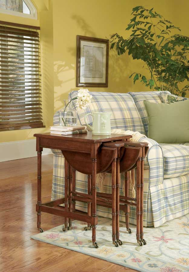 Cheap Butler Plantation Cherry Nesting Tables