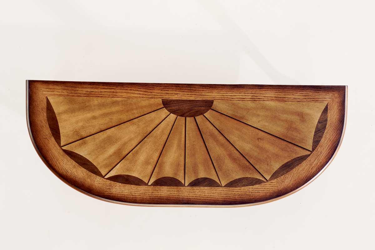Butler 0653001 Vintage Oak Console Table