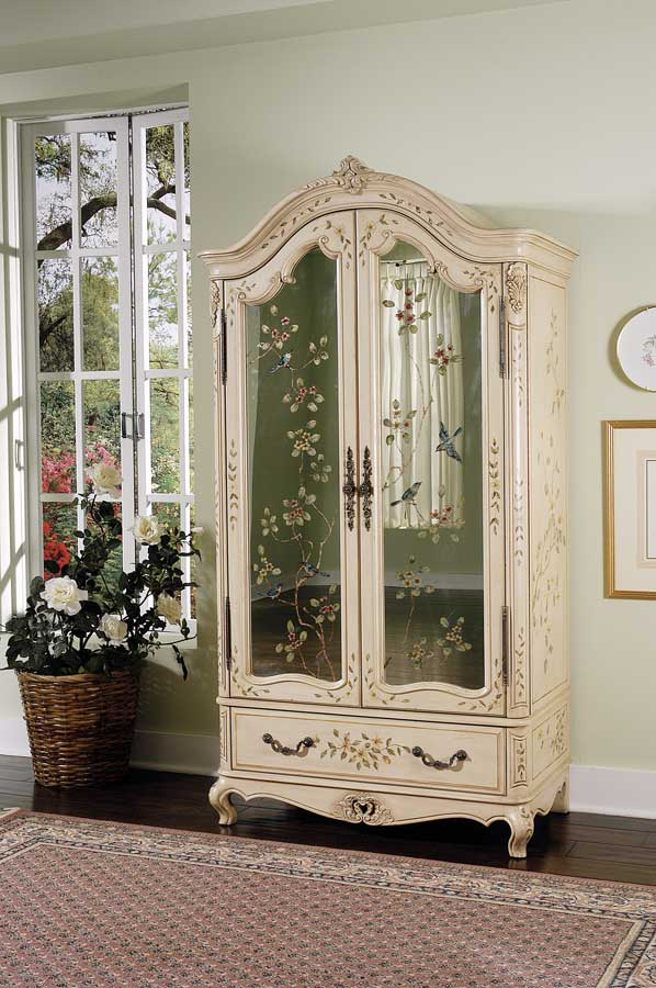 Butler Distinctive Hand Painted Armoire