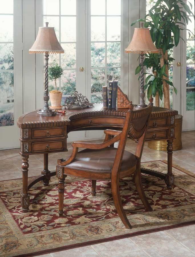 Butler 0714090 Connoisseur's Demilune Desk