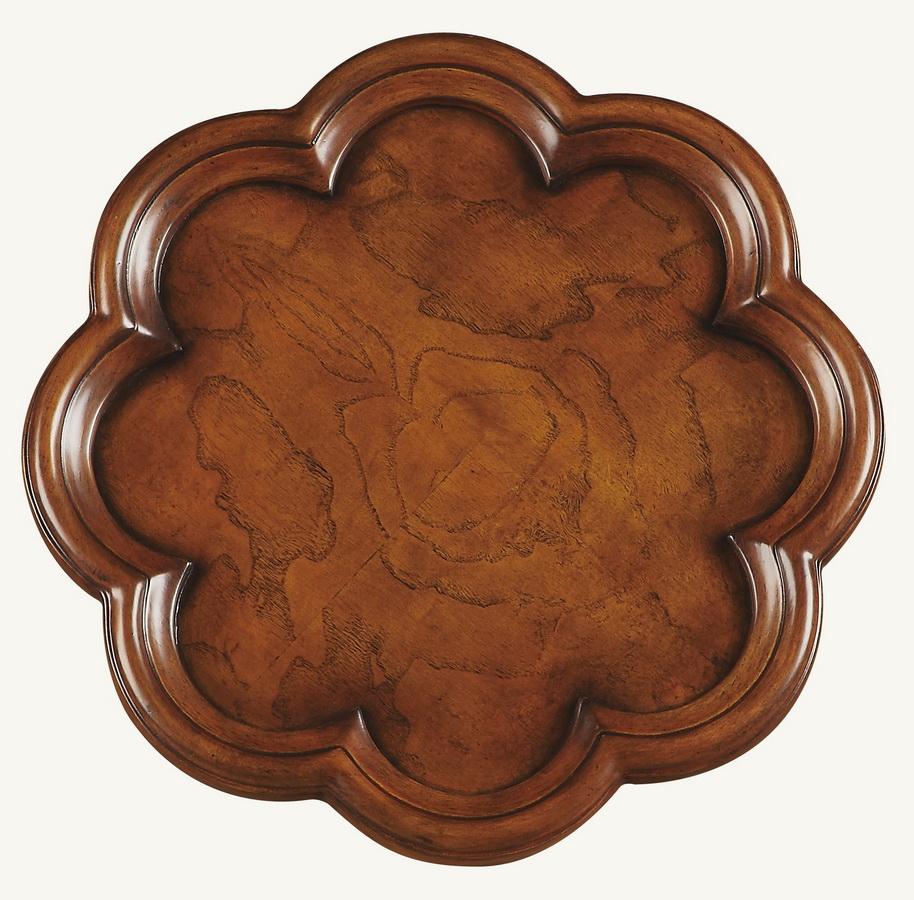 Butler 0923101 Olive Ash Burl Scatter Table