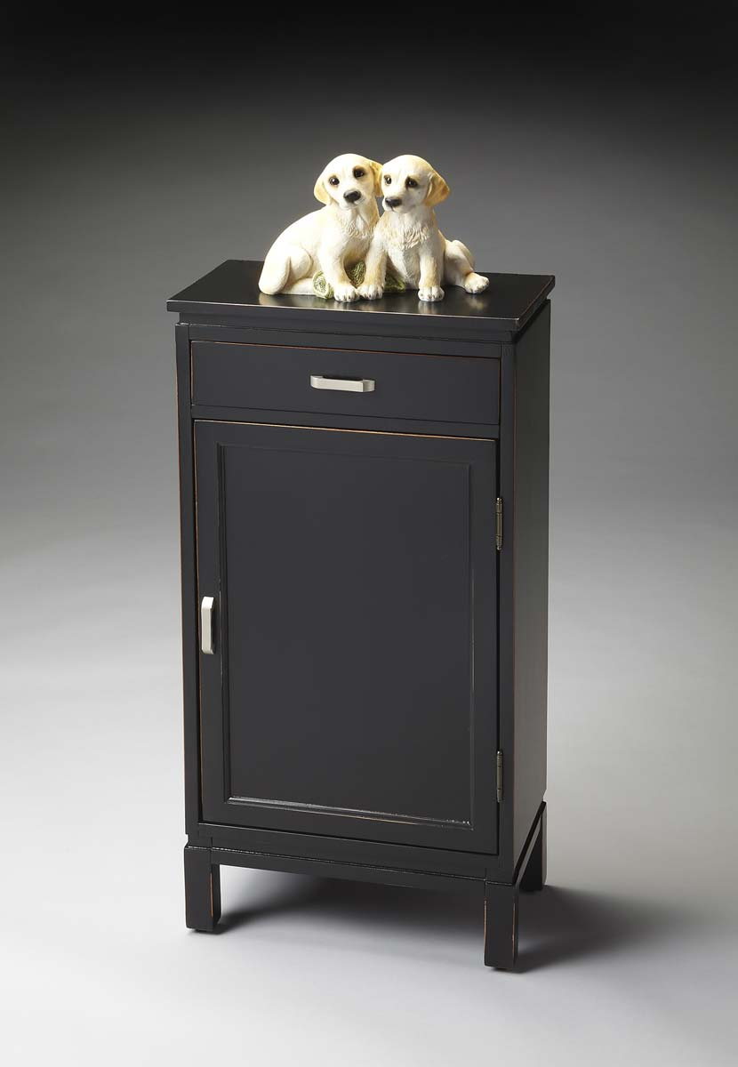 Butler Door Chest - Black Licorice