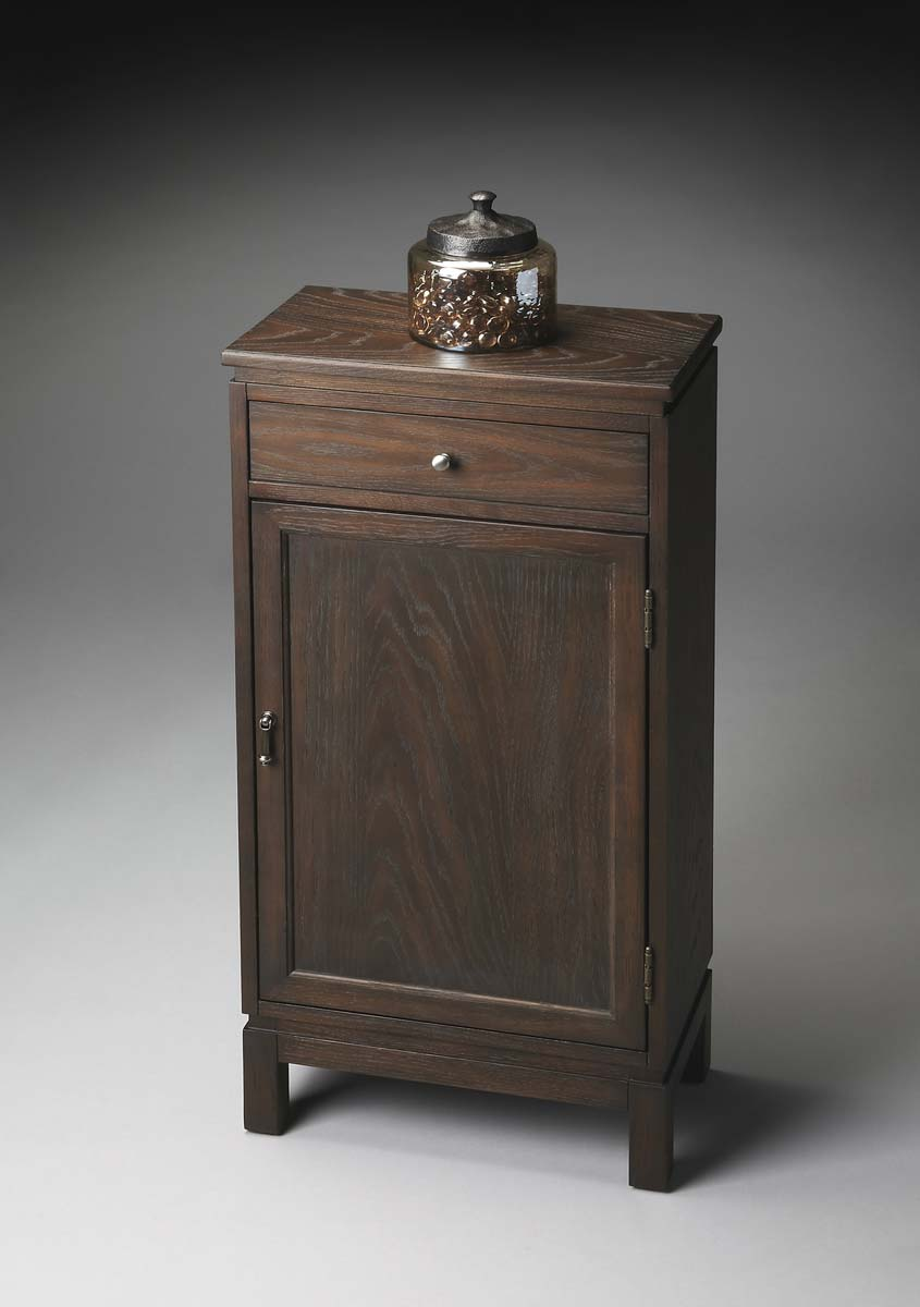 Butler Door Chest - Cocoa