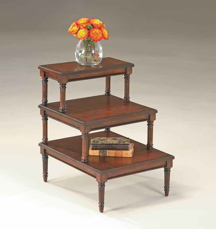 Cheap Butler Plantation Cherry  Step Table