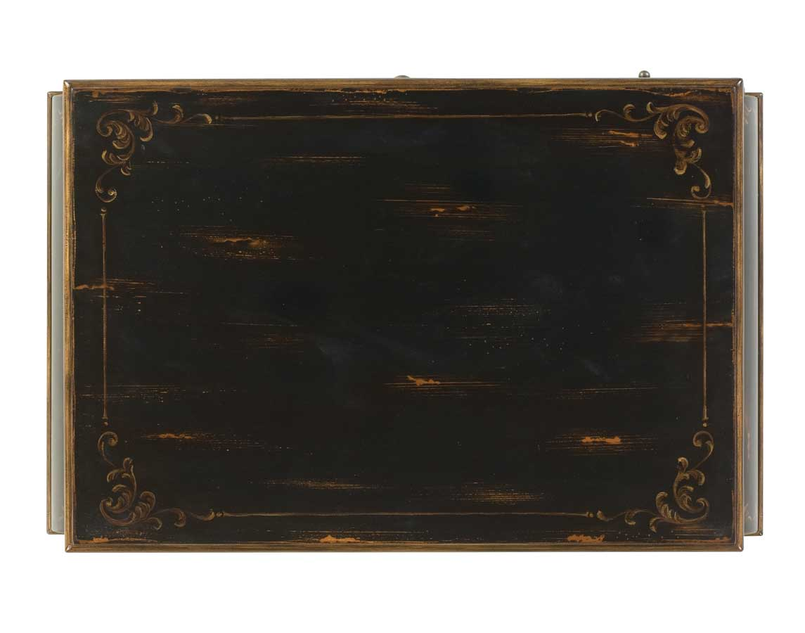Butler European Black Cocktail Chest