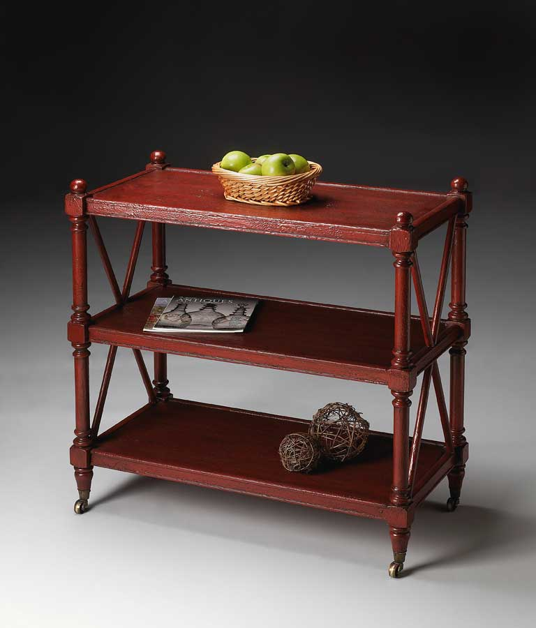 Cheap Butler Rustic Red Server