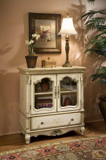 Butler Distinctive Hand Painted Console Chest