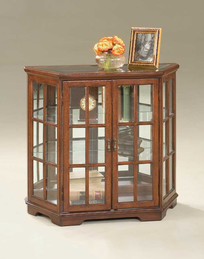 Butler 1662024 Plantation Cherry Curio Console Cabinet