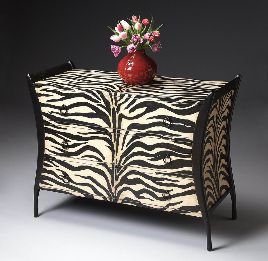 Butler 1708191 Zebra Stripe Chest