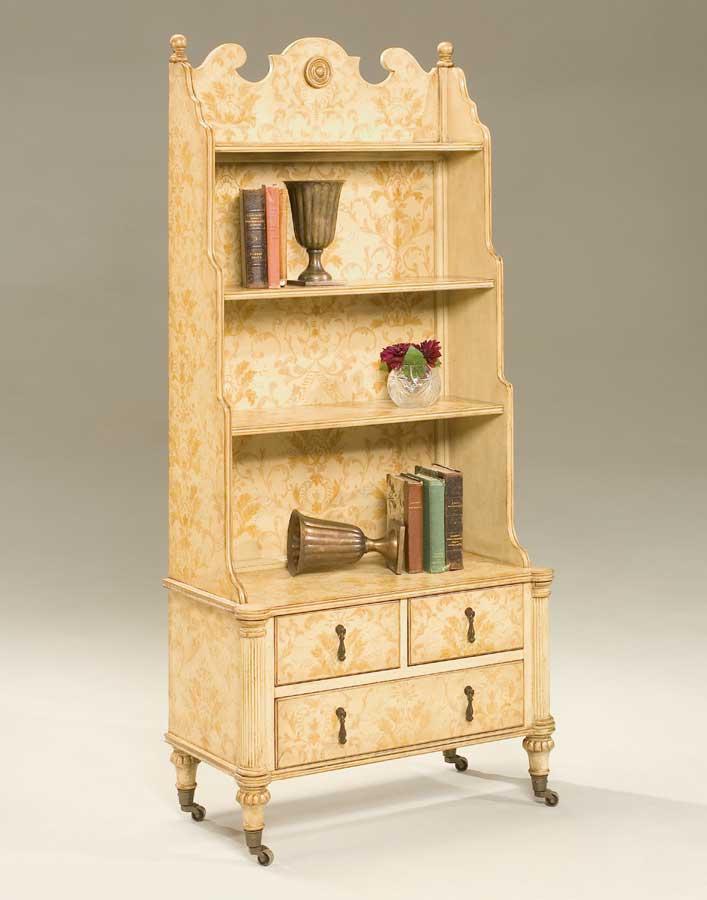Butler Fleur d Gold Bookcase BT-1727129 at Homelement.com