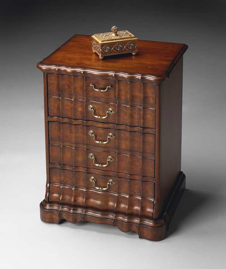 Butler Plantation Cherry Cd/dvd Storage Chest 1774024