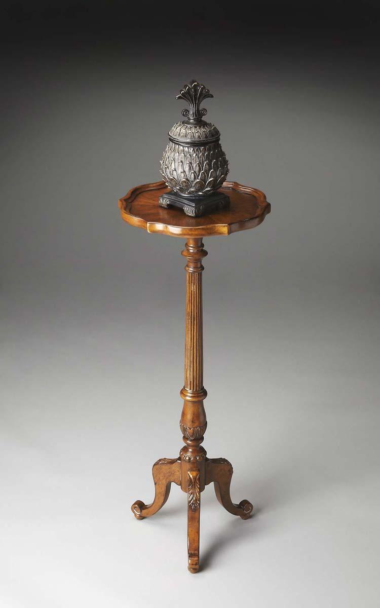 Butler 1931001 Pedestal Plant Stand - Vintage Oak
