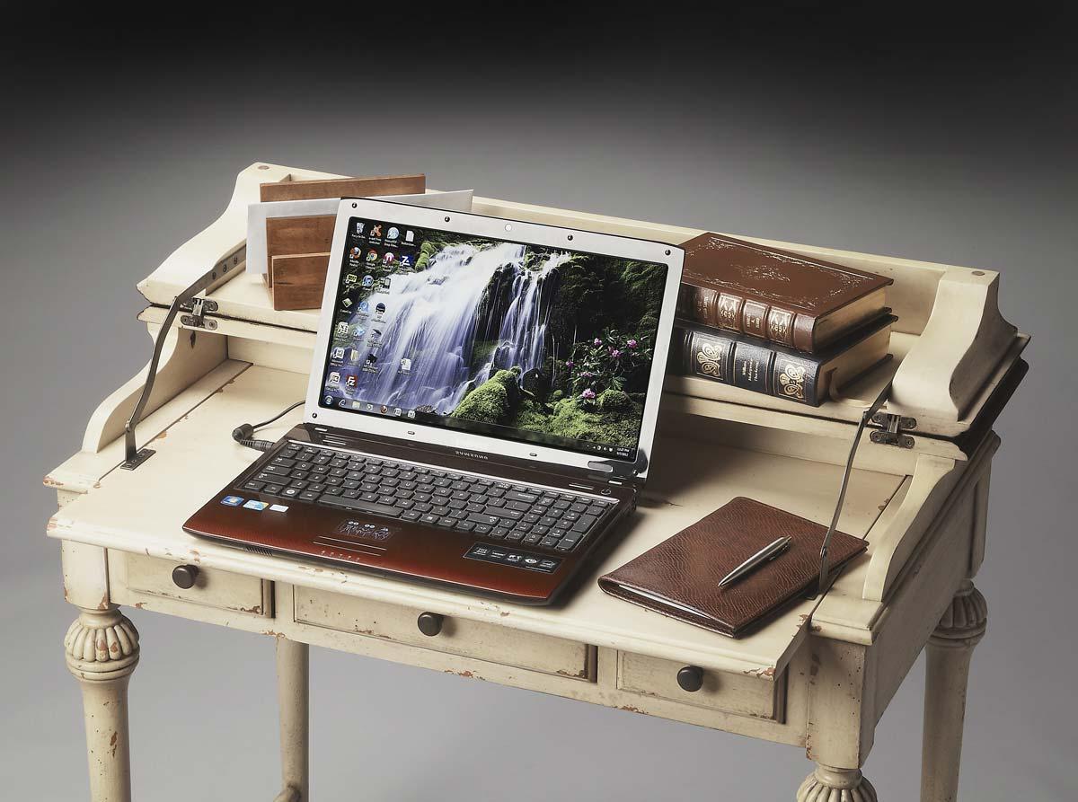 Butler 2120115 Laptop Desk - Vanilla & Cherry