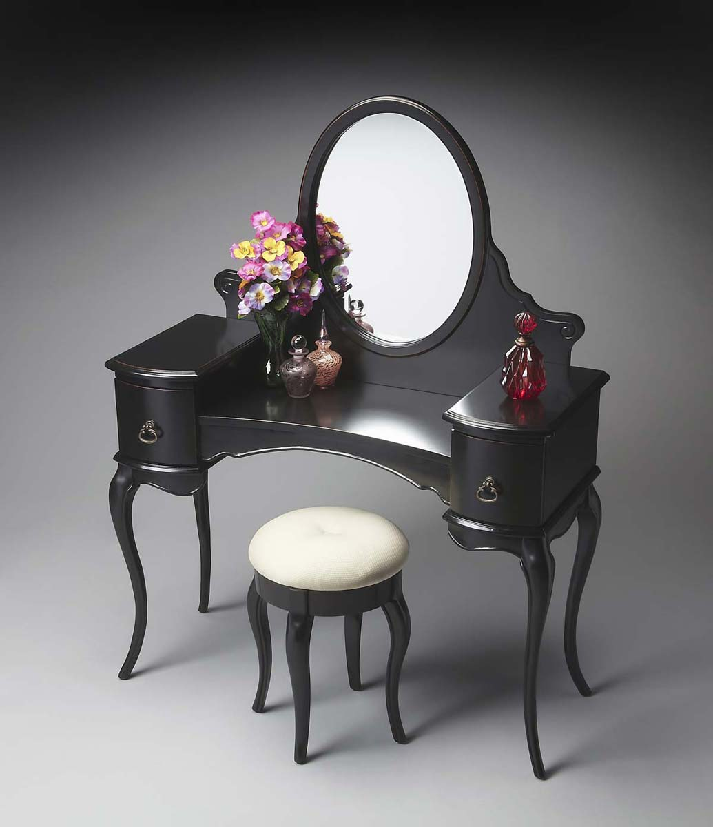Butler Vanity - Black Licorice