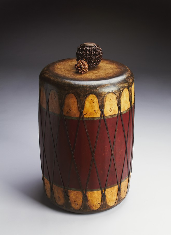 Butler 2199120 Mountain Lodge Drum Table