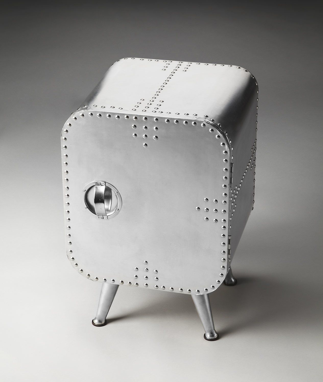 Butler 2538025 Metalworks Chairside Chest