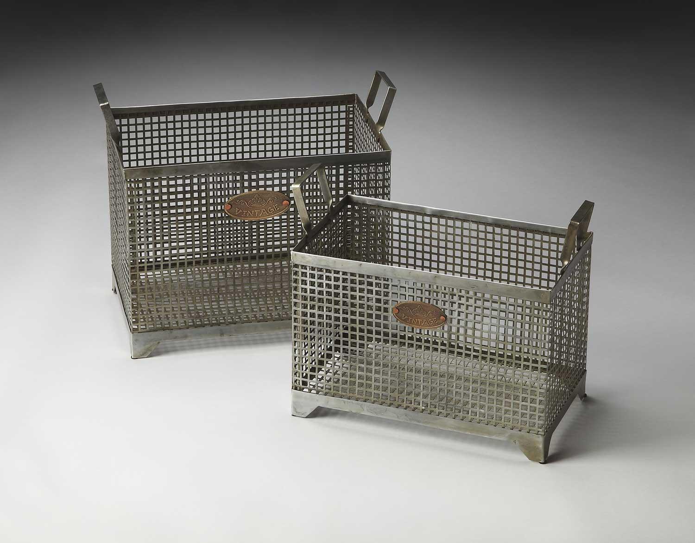 Butler 2549016 Hors Doeuvres Storage Basket Set
