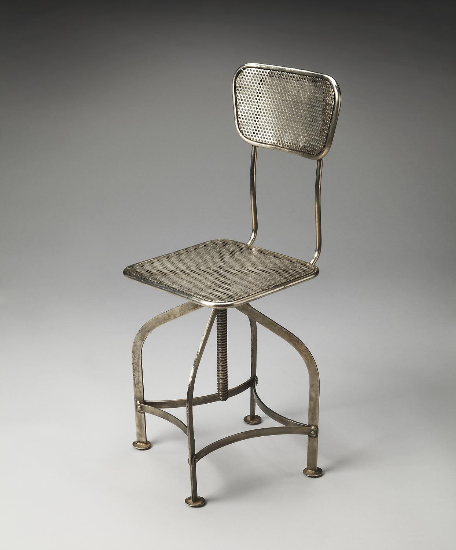 Butler 2553025 Metalworks Swivel Chair