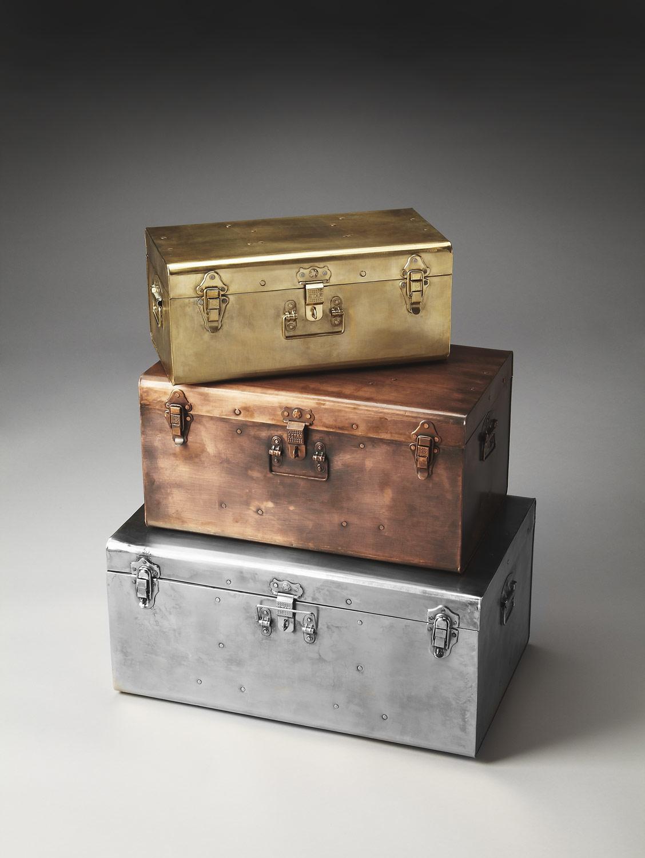 Butler 2744016 Hors Doeuvres Storage Trunk Set