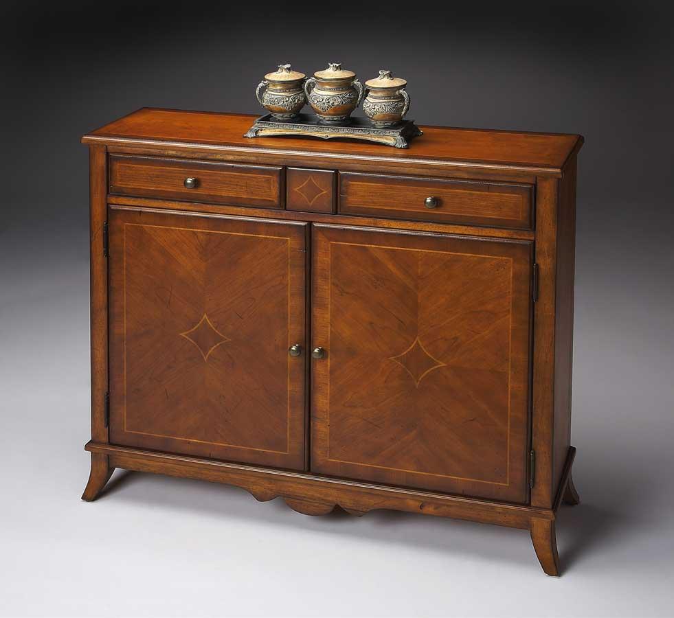 Butler 3019011 Antique Cherry Console Cabinet