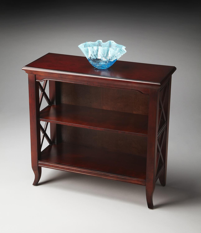Butler 3044024 Plantation Cherry Low Bookcase