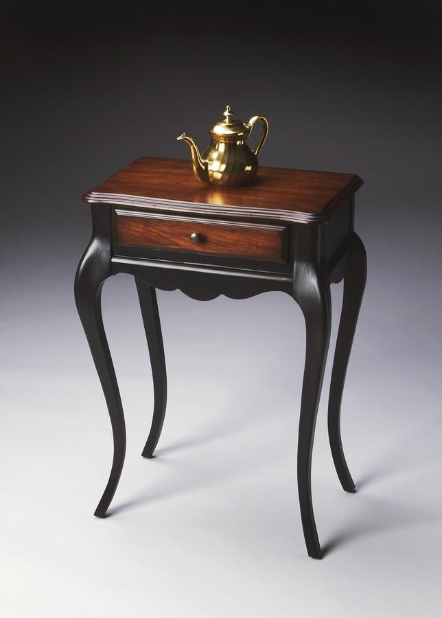 Butler 4010104 cafe noir console table 4010104 - Table console noire ...