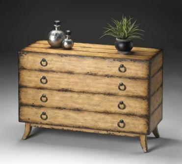 Cheap Butler Rustic Fawn Chest