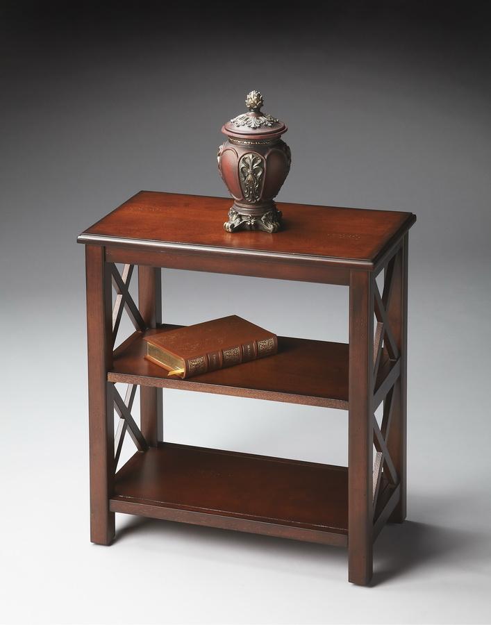 Butler 4105024 Plantation Cherry Bookcase