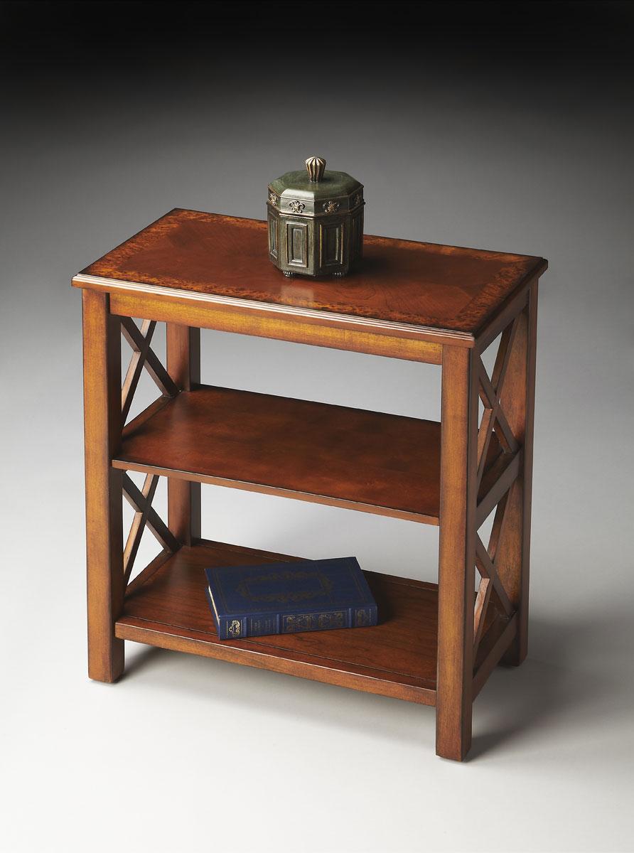 Butler 4105101 Bookcase - Olive Ash Burl