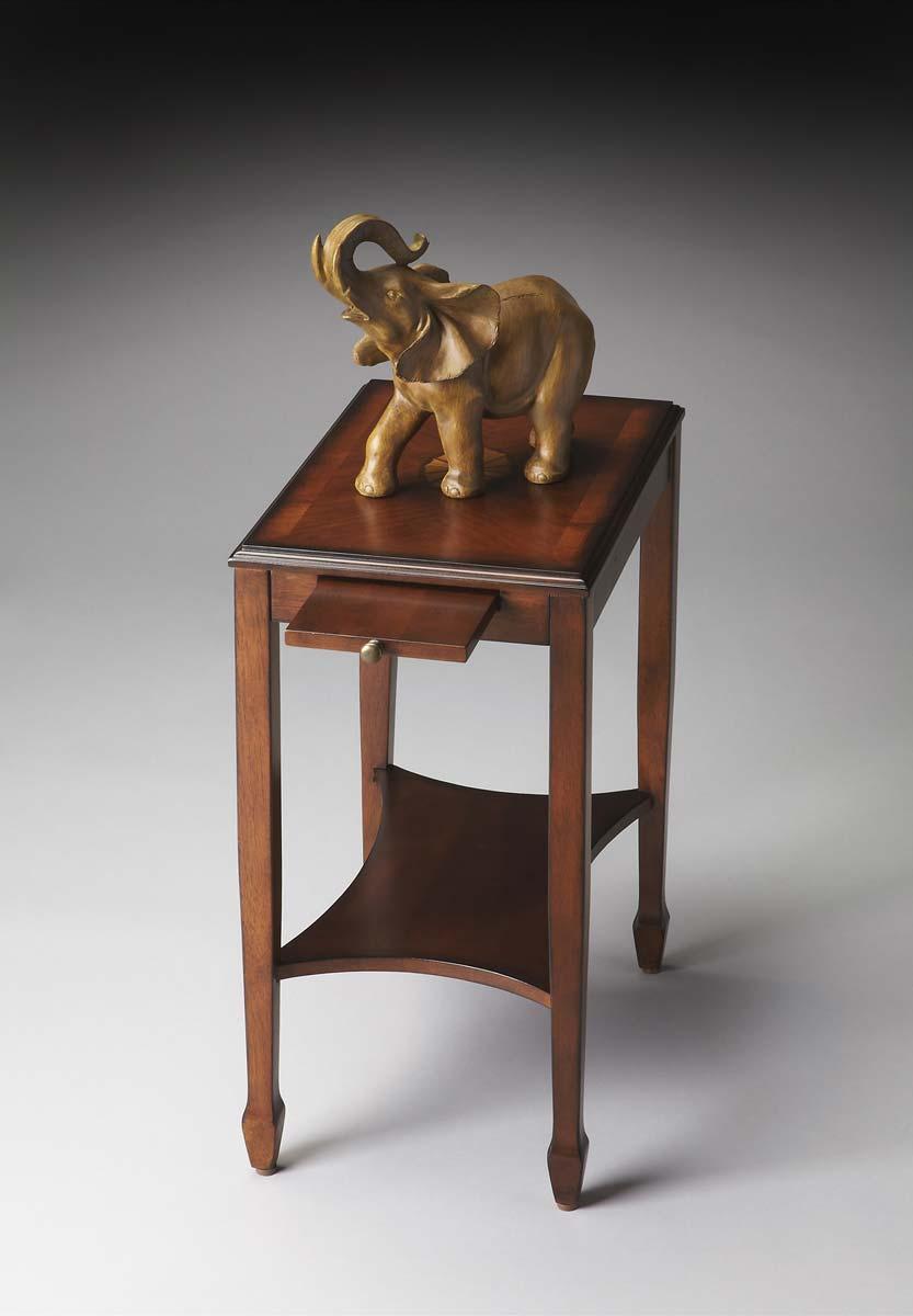 Butler 4107101 Side Table - Olive Ash Burl