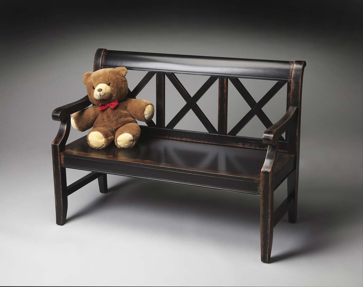 Butler 5048250 Bench - Midnight Rose