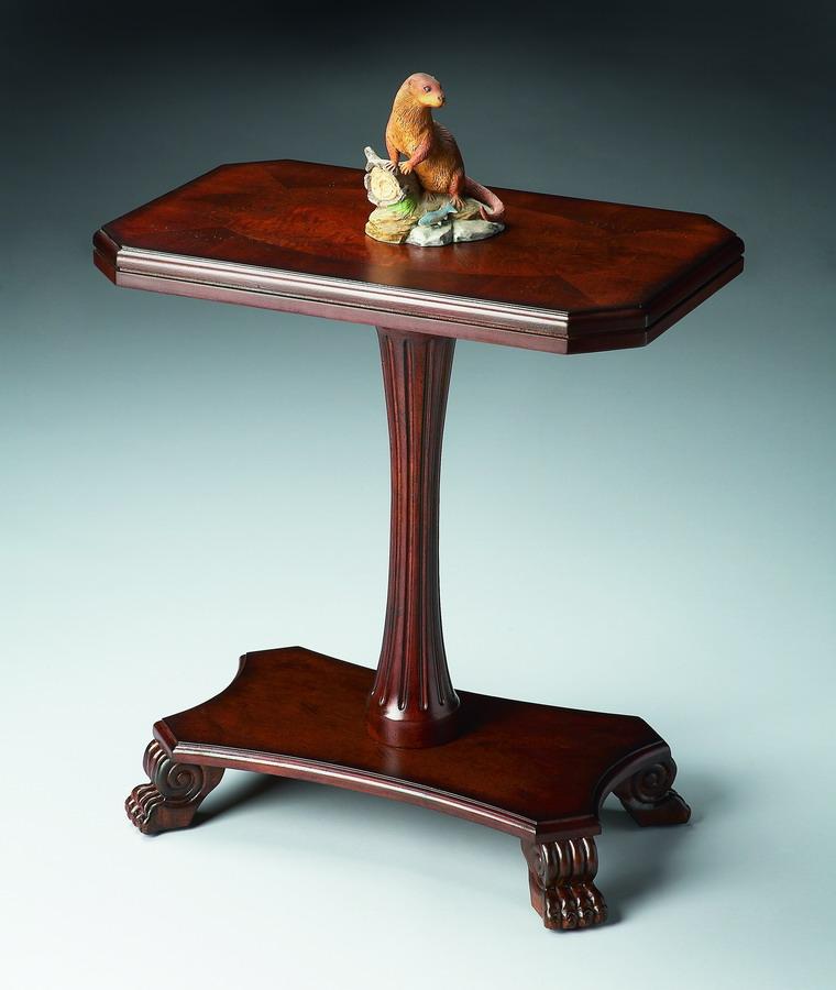 Cheap Butler 7012024 Plantation Cherry Pedestal Accent Table