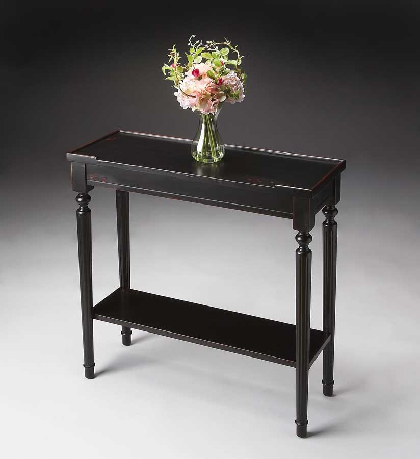 Butler 7036136 Plum Black Console Table