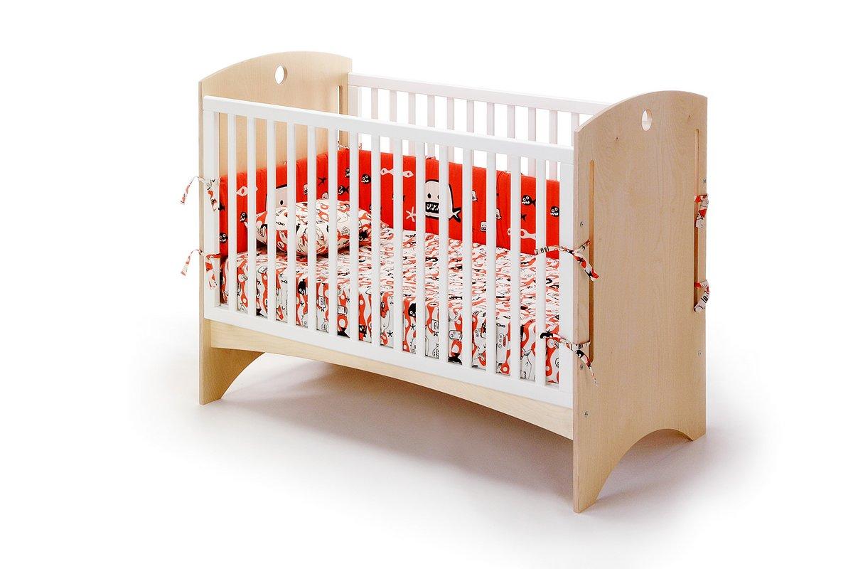 Offi bebe 2 crib natural ply of cr10nw - Bed bebe scandinavische ...