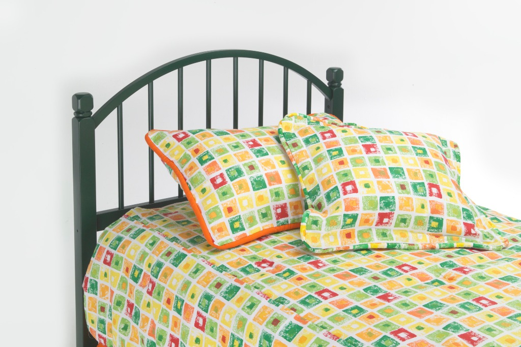 Fashion Bed Group Campton Headboard in Green
