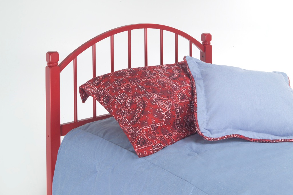 Fashion Bed Group Campton Headboard in Red