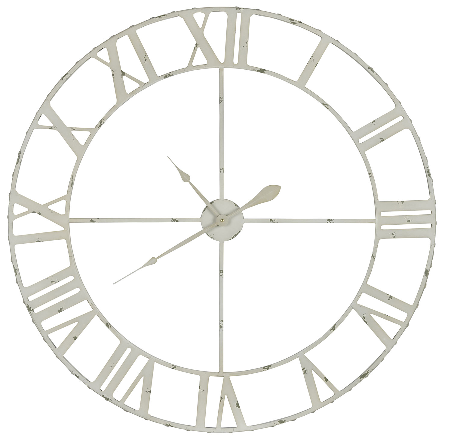 Cooper Classics Annency Clock - Cream