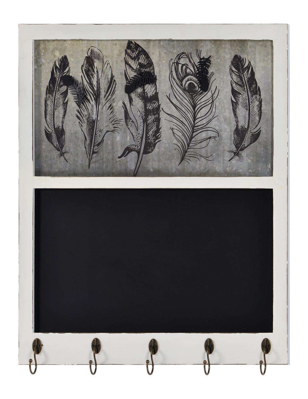Cooper Classics Lera Chalkboard - Distressed White