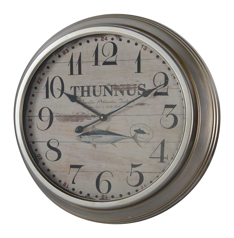 Cooper Classics Yates Clock - Silver