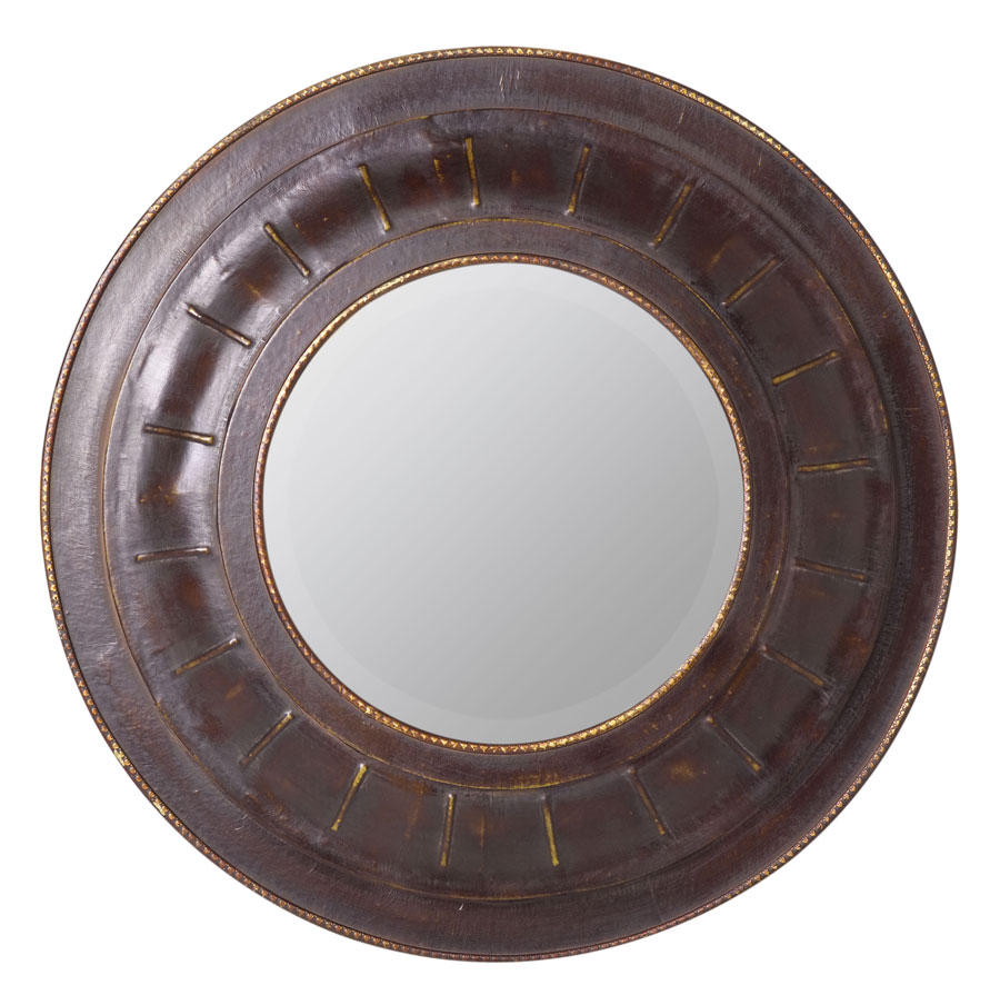 Douala Leather Mirror-Cooper Classics