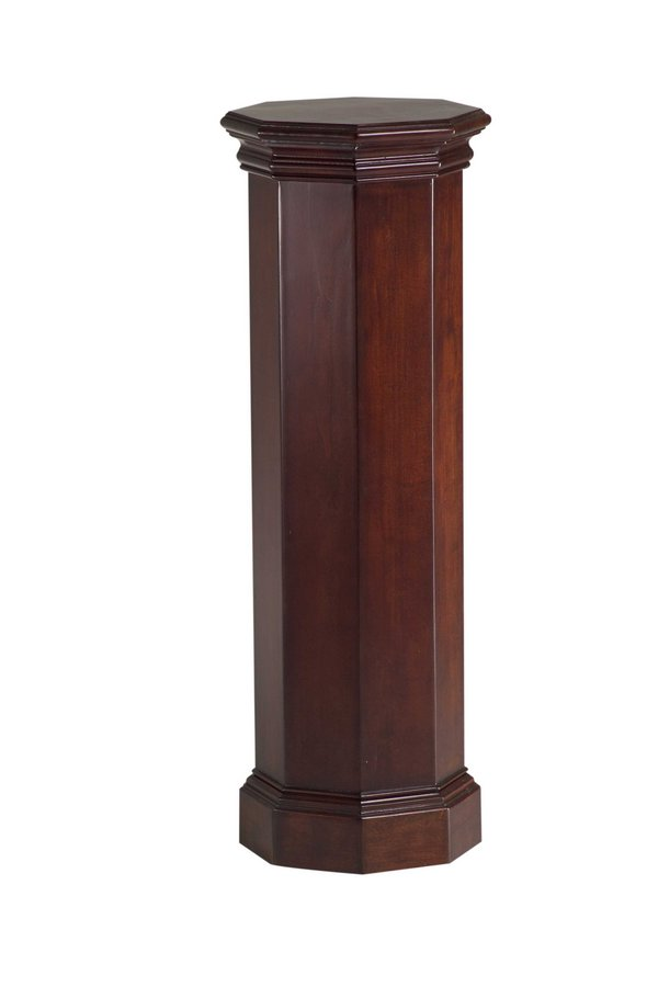 Cheap Cooper Classics Octagonal Cherry Pedestal