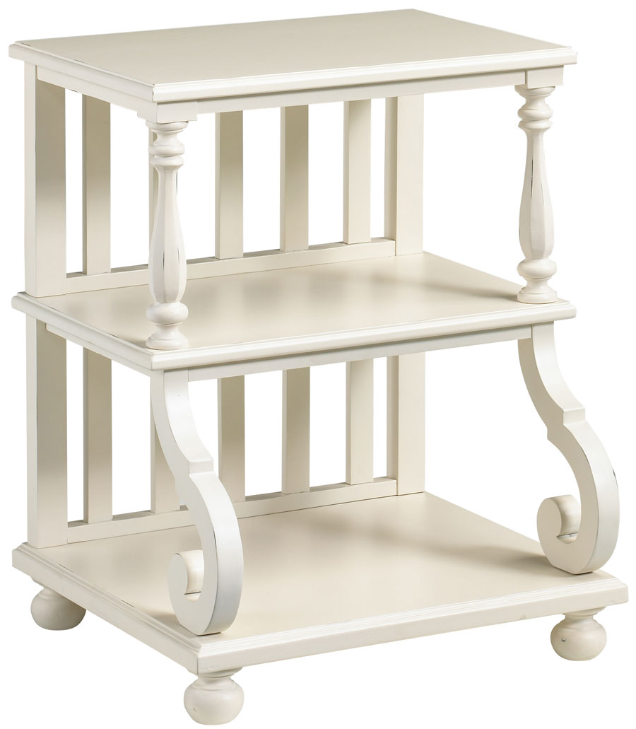 Cheap Cooper Classics Camden Cottage Step Table – White