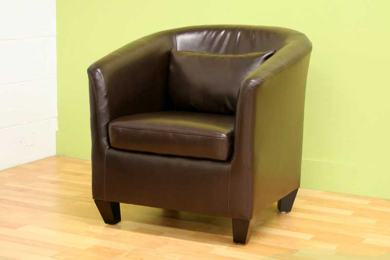 Wholesale Interiors CC71150 Bonded Leather Club Chair
