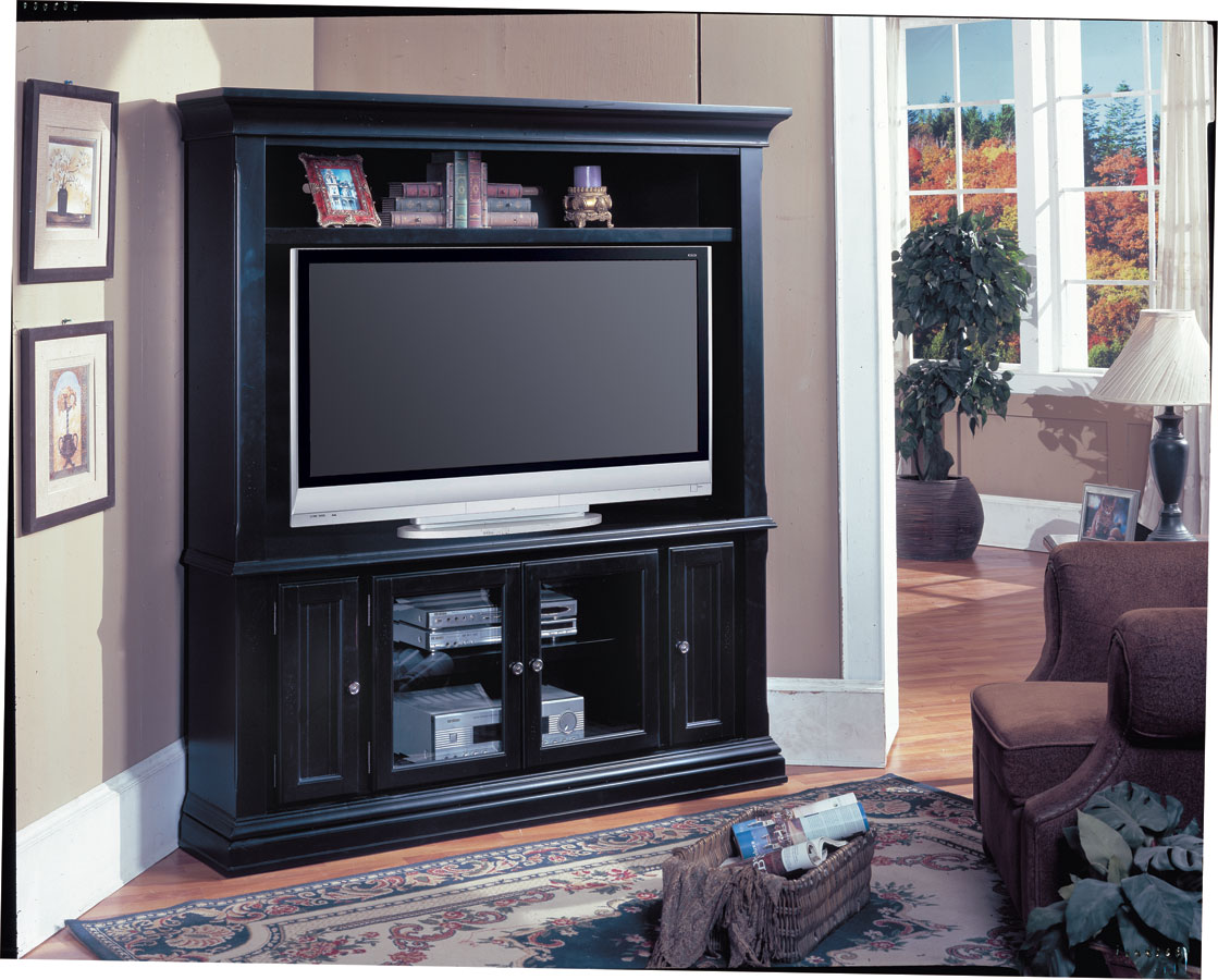 Copper Canyon LCD Plasma TV Corner Entertainment Center-Parker House