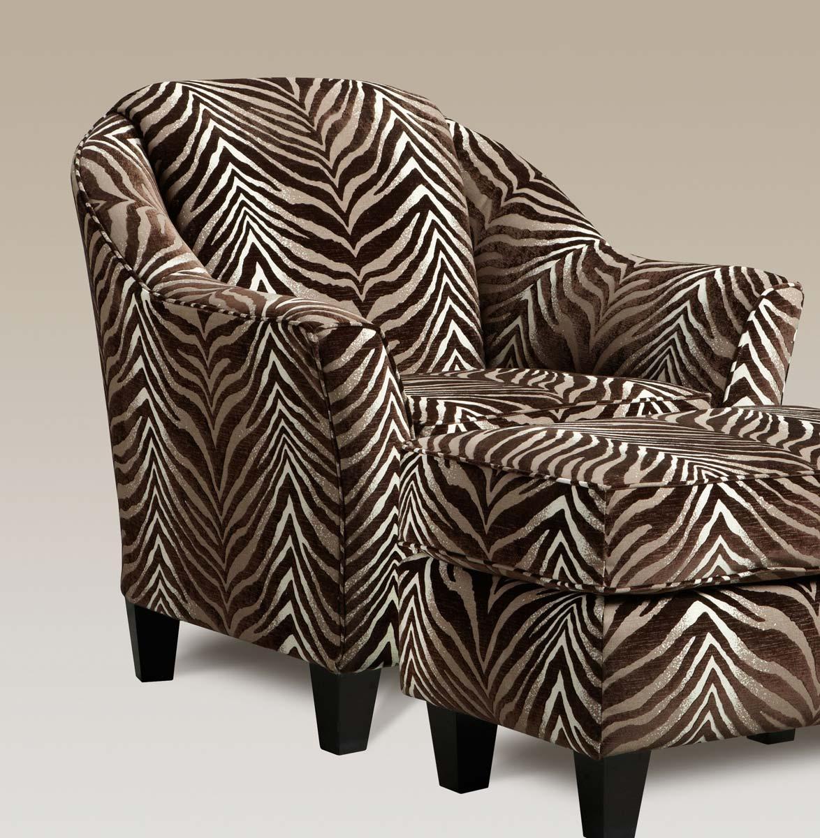 Chelsea Home Mercer Accent Chair - Shaman Linen - Chelsea