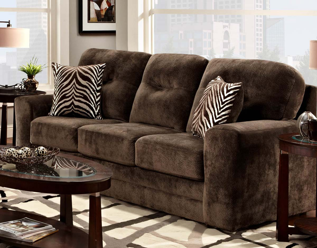 Chelsea Home Mercer Sofa - Champion Chocolate - Chelsea