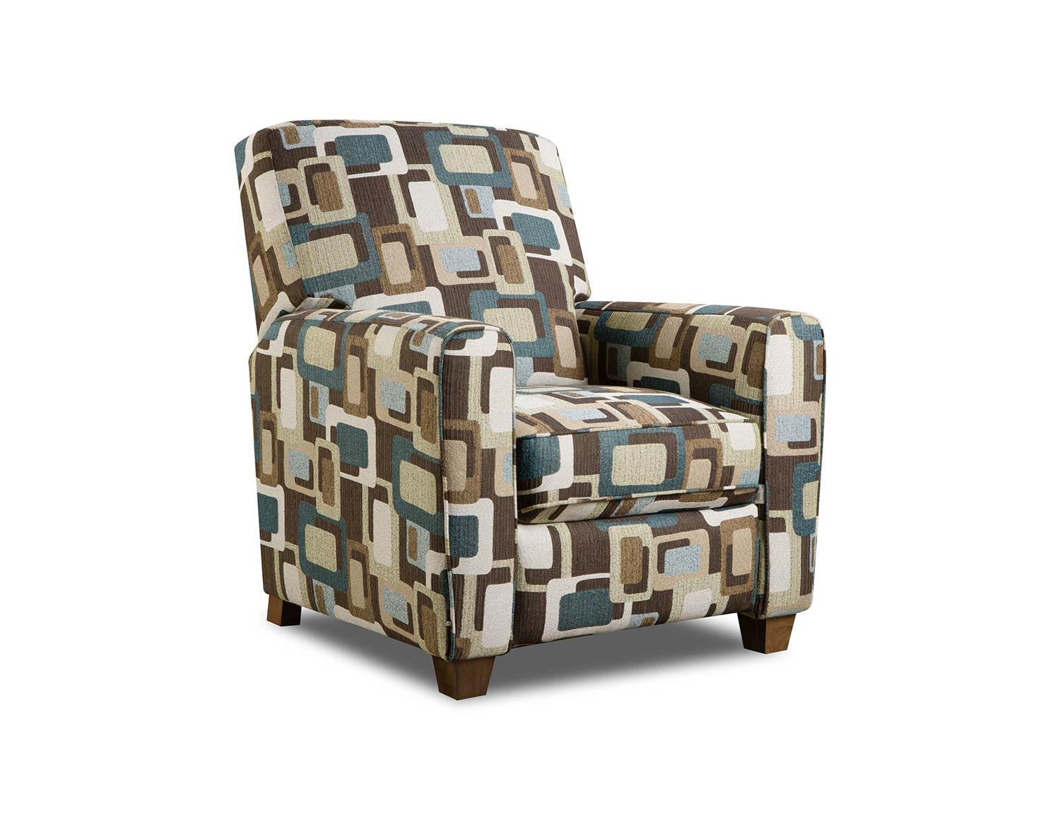 Admirable Chelsea Home Barras Recliner Chair Fusion Teal Pdpeps Interior Chair Design Pdpepsorg