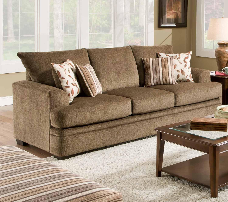 Chelsea Home Calexico Sofa - Cornell Cocoa