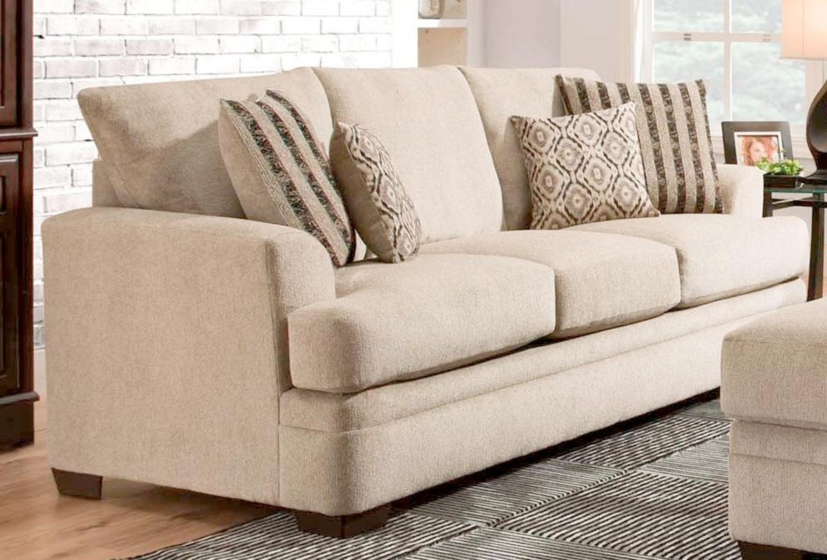 Chelsea Home Calexico Sofa - Cornell Platinum