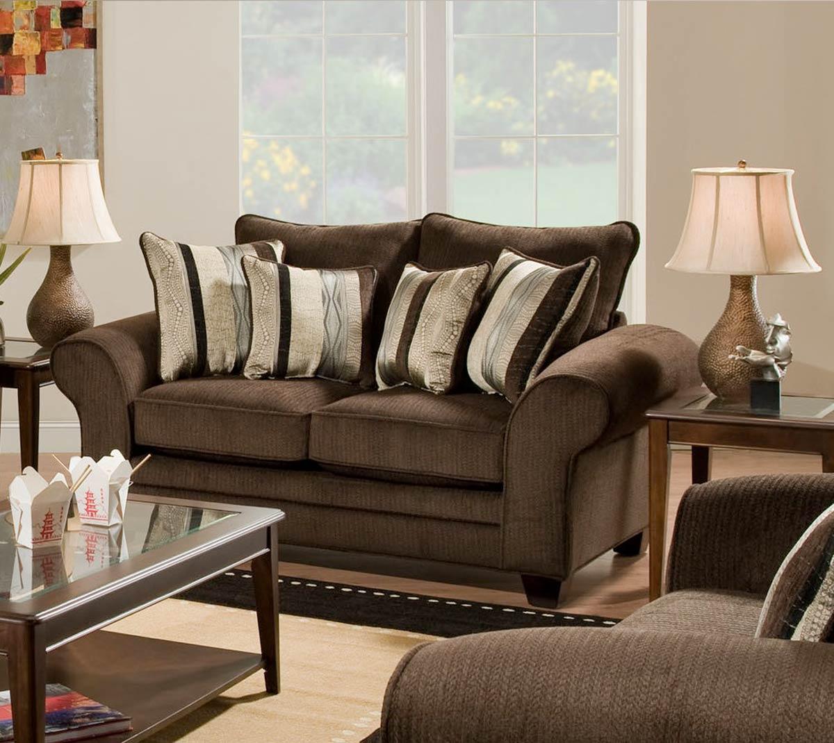 Chelsea Home Clearlake Sofa Set Waverly Godiva Chf